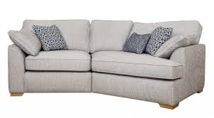 quinn 3 seater k end sofa grey