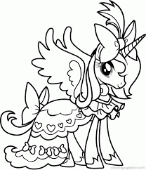 Small Picture My little pony coloring pages free printable my little pony
