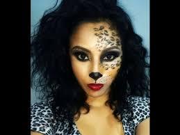y cat leopard cheetah makeup