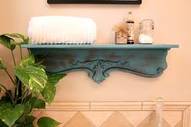 shelf repurposed inspired by decor steals repurposed shelf with krylon chalky spray paint