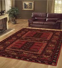 afghan red rug