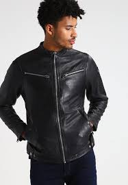 g star mower leather jkt men black leather jacket larger image