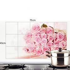 Small Picture Buy Bulfyss Kitchen Wall Cover Stickers Water Proof Oil Proof and