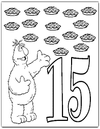 Small Picture Number 15 Coloring Page Coloring Home