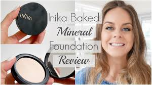 inika baked mineral foundation review best organic makeup brands in australia