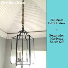 restoration hardware light fixture brass light fixture to restoration hardware knock off in real life restoration hardware bathroom lighting fixtures