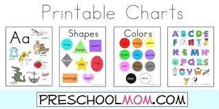 Colors Chart For Preschoolers Charts Colors Chart Preschool
