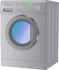 washing machine and dryer clipart. a guest washing machine and dryer is available on site. clipart