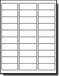 Address Labels 30 Per Page Label Sheet Konmar Mcpgroup Co
