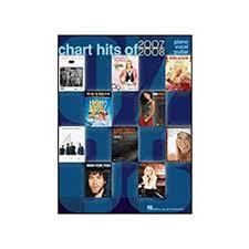 Hal Leonard Chart Hits Of 2007 2008 P V G