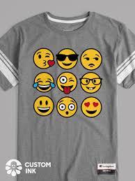 Diy T Shirt Designs Pinterest This Multiple Face Emojis Design Is The Perfect Custom Idea