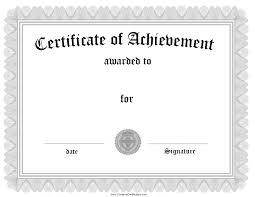 Free Word Certificate Templates Of Completion Templates Word 5