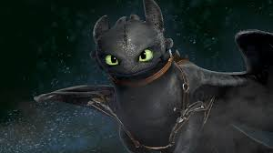 made a toothless wallpaper with a friend
