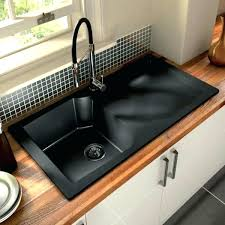 Granite Composite Sink Vs Stainless Steel Unique Top Black Lamona Inset  Undermount Single Bowl Si Granite Composite Sink Vs Stainless Steel97