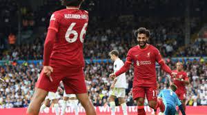 محمد صلاح «المئوي» يقود ليفربول لاكتساح ليدز يونايتد بثلاثية
