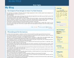 Create a blog - Choice of forum skin - sosblog.com