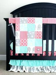 pink and grey elephant baby bedding furniture pers crib sets nursery decor girl colorful by home pink elephant nursery