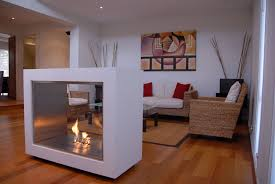 awesome square white glass facade contemporary ventless gas fireplace