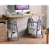 diy standing desk conversion. Fine Desk American Furniture Classics 22222 Adjustable Height Desk OS Home And Office  Writing Sturdy Metal Base With Diy Standing Conversion O