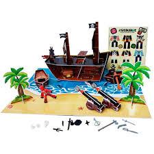 Купить <b>игровой набор</b> Zing <b>Stikbot Набор</b> Пиратский корабль ...