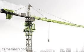 Buy 42 Ton 75 258m Tower Crane Zoomlion Tower Cranes Camamach