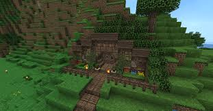 How To Build A Hobbit House Minecraft Hobbit Hole Inside Blueprints Layer By Leyer 1278