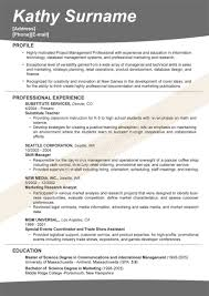 Technical Resume Template Lead Samples Supervisor Information ...