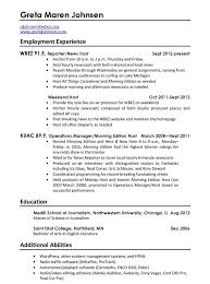 ... Classy Should A Resume Be One Page Free Templates ...