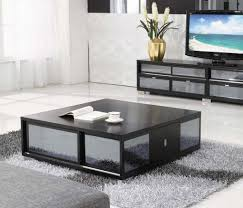 Living Room Table Modern Square Coffee Table With Storage Square Coffee Table With