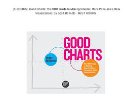 Good Charts By Scott Berinato E Books Good Charts The Hbr Guide To Making Smarter More