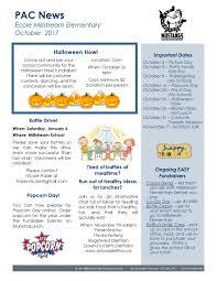 october newsletter ideas pac october newsletter 2 _page_1 millstream