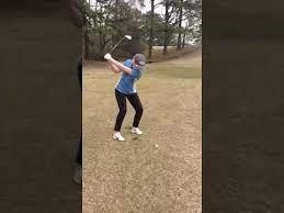 Maggie Glass (Spring 2019) Golf Swings - YouTube