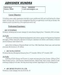 Career Objective For Real Estate Resume Resume Objective Examples For Freshers 40 Resume For