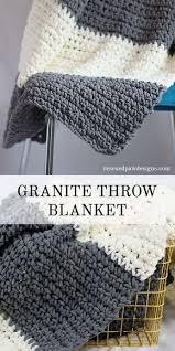 Easy Crochet Throw Blanket Patterns