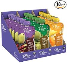 Plum <b>Organics Stage</b> 2, <b>Organic Baby Food</b>, Fruit and Veggie ...