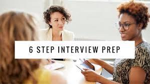 6 step interview prep the b werd 6 step interview prep