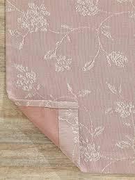 Купить <b>портьеру</b> «<b>Скюр</b> (пыльная роза)» розовый, белый по цене ...