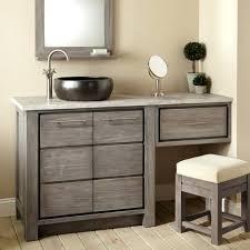 bathroom vanity with makeup table bathroom sink vanity with grey wooden makeup cabinet with several drawer