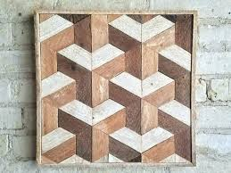wood wall patterns geometric wood wall art reclaimed wood wall art decor lath geometric pattern inside