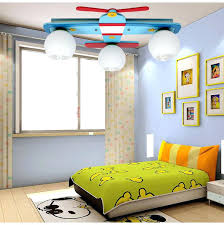 childrens bedroom lighting plane model bedroom ceiling lights boy room lamps glass wood creative rural cartoon childrens bedroom lighting