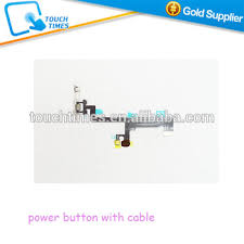 <b>10pcs</b>/<b>lot</b> Mobile Phone Power Button With Flex Cable For Iphone 6 ...