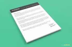 Modern Resume Templates Psd Modern Resume Template In Psd With Cover Letter Zippypixels