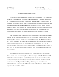 Reflective Essay Writing Examples Essay Thesis Examples Health Care Essays Also High School