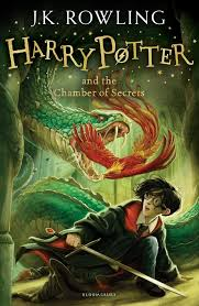 harry potter and the chamber of secrets new cover