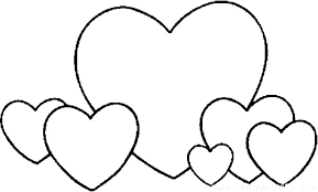 Love Coloring Pages Printable Love Heart Colouring Valentine Heart