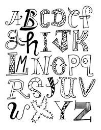 Alphabet 1 Coloriages Alphabet Et Lettres