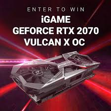 Win a <b>Colorful iGame GeForce RTX</b> 2070 Vulcan X OC - Graphics ...