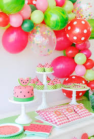 Watermelon Get together - the right summer time theme party!