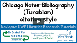 14c Chicago Notes Bibliography Turabian Citation Style