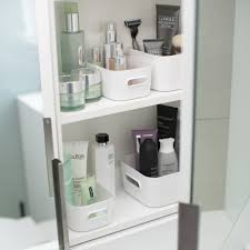 Bathroom Cabinets : Organized Bathroom Shelves Bathroom Cabinet ...